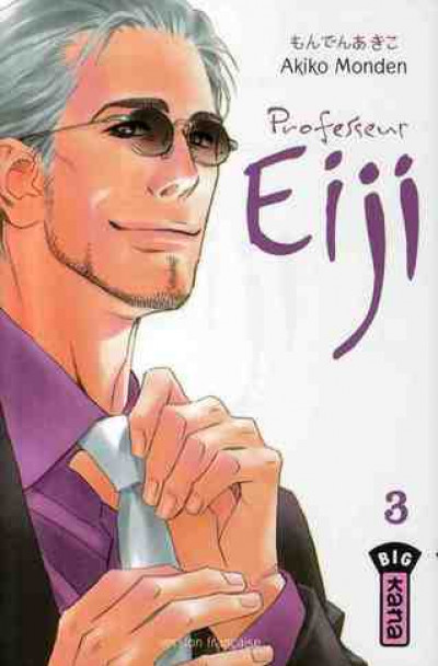 Couverture professeur eiji tome 3