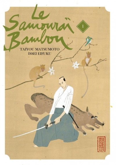 Couverture le samouraï bambou tome 1