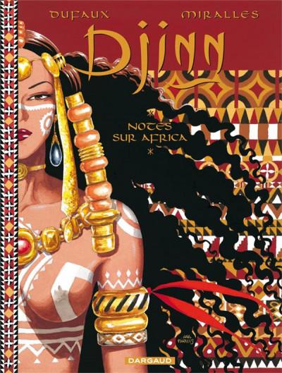 Couverture djinn ; notes sur africa