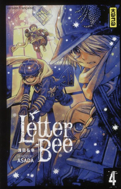 Couverture letter bee tome 4