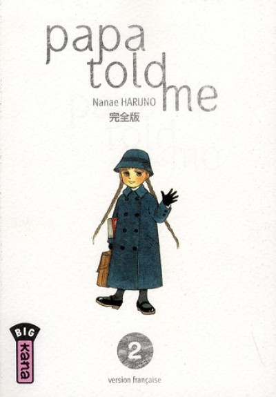Couverture papa told me tome 2