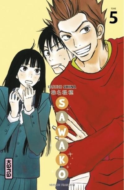 Couverture sawako tome 5
