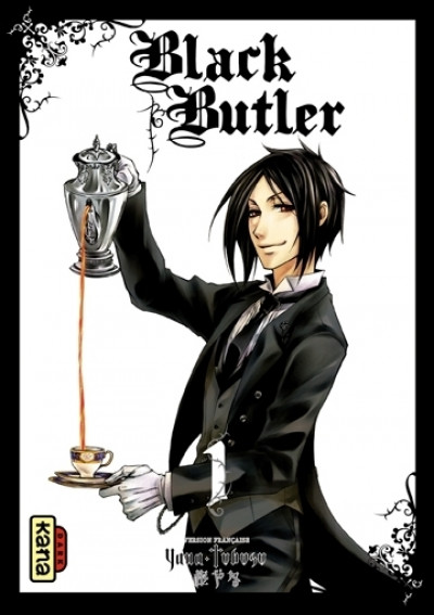 Couverture black butler tome 1