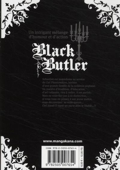 Dos black butler tome 1