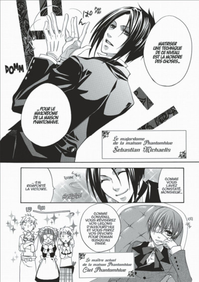 Page 8 black butler tome 1