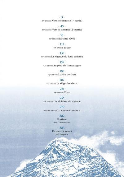 Page 2 le sommet des dieux tome 5 - édition cartonnée