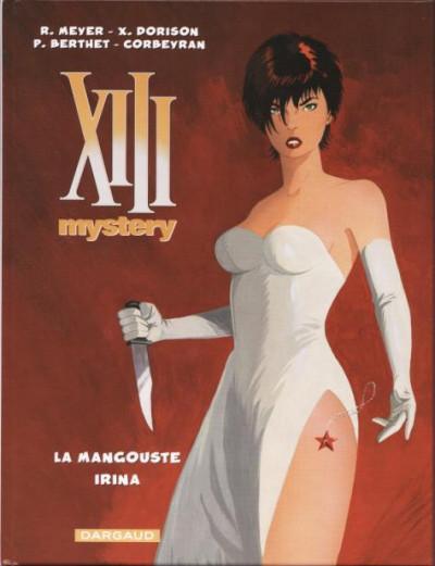 Couverture XIII Mystery - La Mangouste + Irina