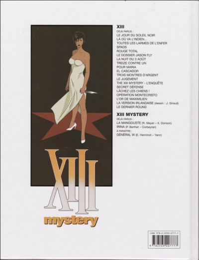 Dos XIII Mystery - La Mangouste + Irina