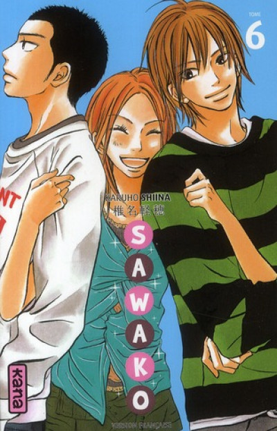 Couverture sawako tome 6