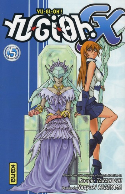 Couverture yu-gi-oh gx tome 5
