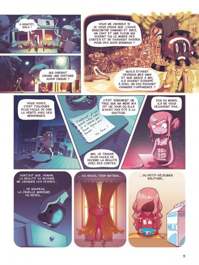 Page 5 Nola tome 1 - une vie pleine de mystères