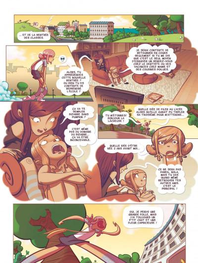 Page 6 Nola tome 1 - une vie pleine de mystères