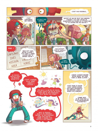 Page 7 Nola tome 1 - une vie pleine de mystères