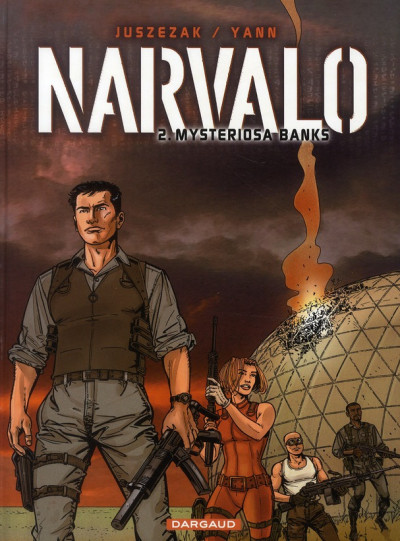 Couverture narvalo tome 2 - mysteriosa banks