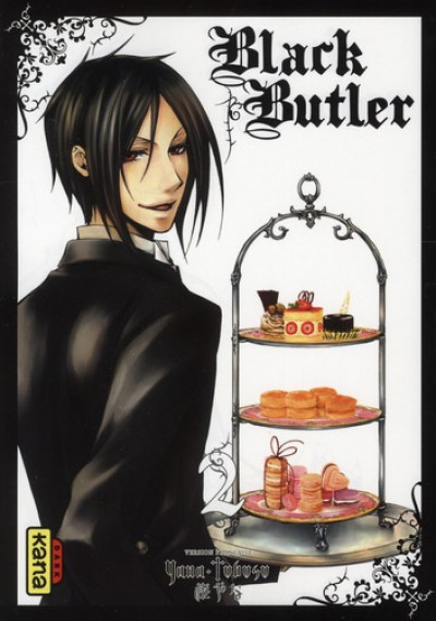 Couverture black butler tome 2