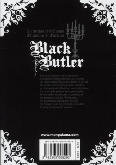 Dos black butler tome 2