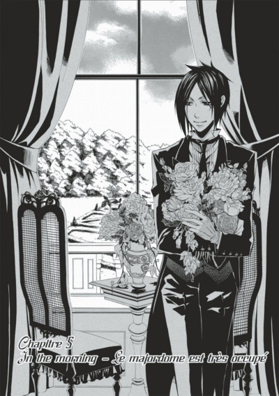 Page 3 black butler tome 2