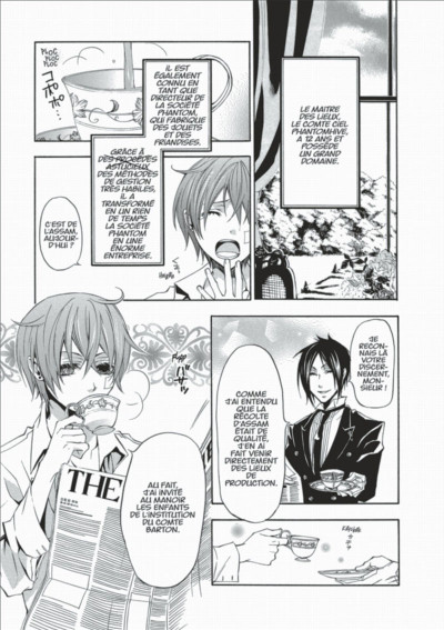 Page 7 black butler tome 2