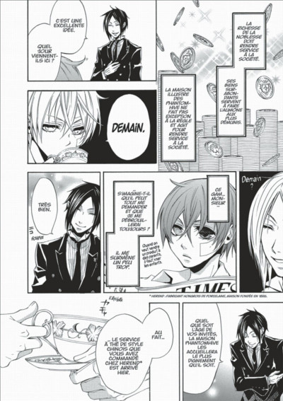Page 8 black butler tome 2