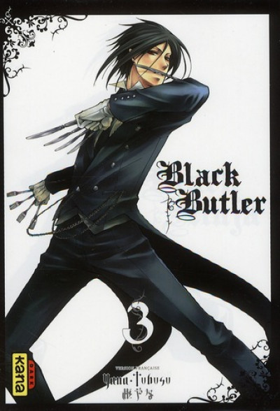 Couverture black butler tome 3