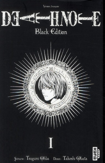 Couverture death note - black edition tome 1