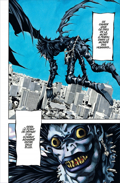 Page 8 death note - black edition tome 1