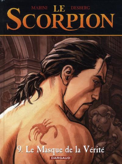 Couverture le scorpion tome 9 - le masque de la vérité