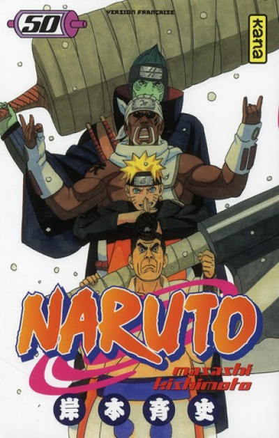 Couverture Naruto T.50