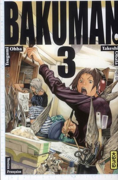 Couverture Bakuman tome 3