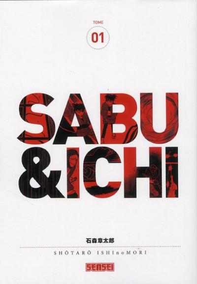Couverture Sabu & Ichi tome 1