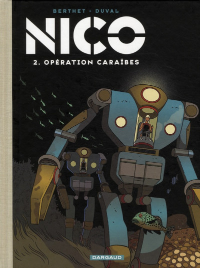 Couverture Nico tome 2 - opération Caraïbes - version collector