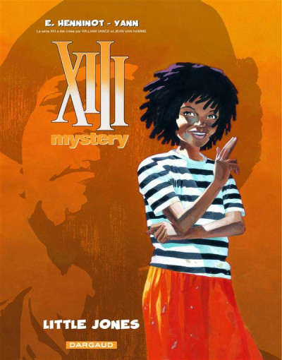 Couverture XIII mystery tome 3 - little Jones