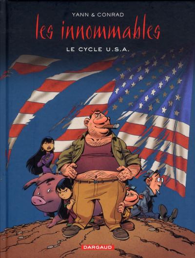 Couverture les Innommables T.3 - le cycle U.S.A.