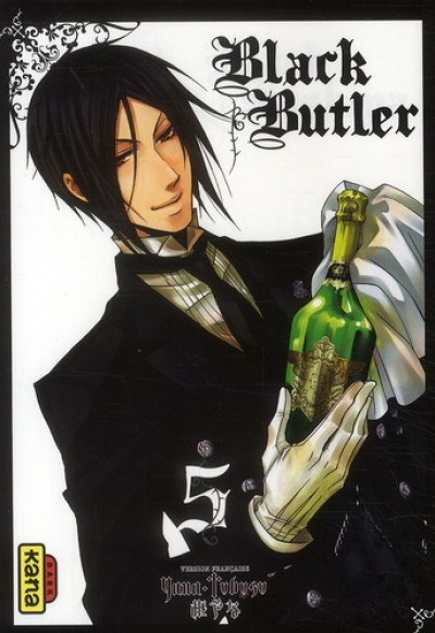 Couverture black butler tome 5