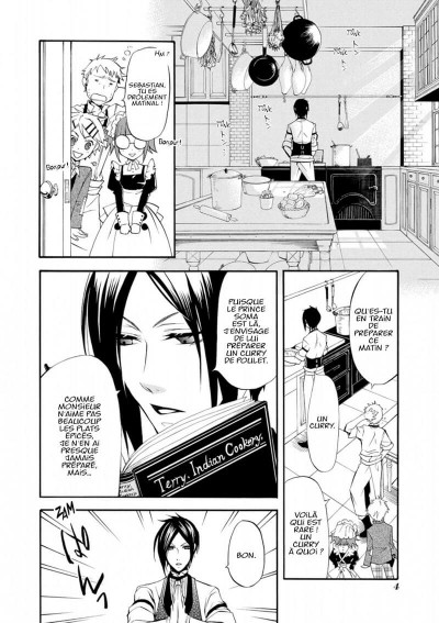 Page 4 black butler tome 5