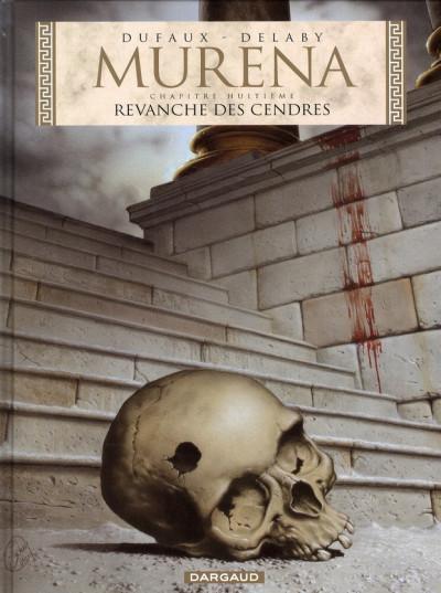 Couverture Murena tome 8 - revanche des cendres