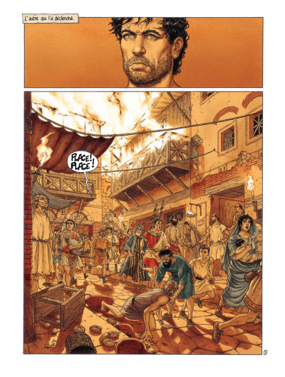 Page 4 Murena tome 8 - revanche des cendres