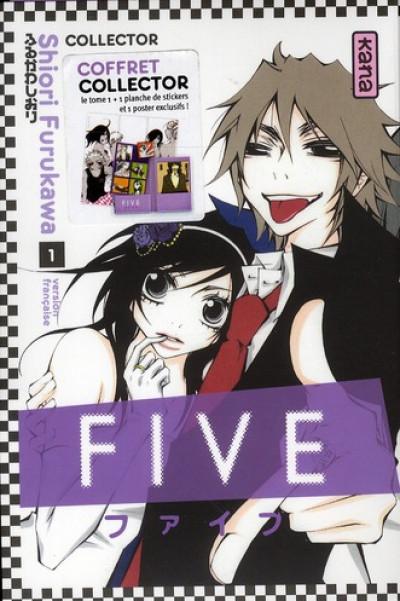 Couverture five tome 1 - coffret collector
