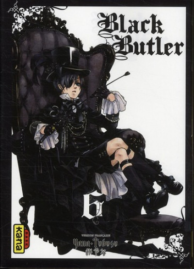 Couverture black butler tome 6