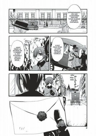 Page 8 black butler tome 6
