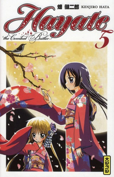 Couverture hayate the combat butler tome 5