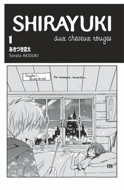 Page 3 Shirayuki aux cheveux rouges tome 1