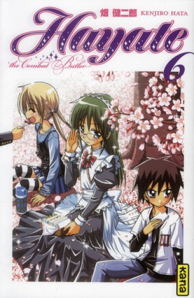 Couverture hayate the combat butler tome 6