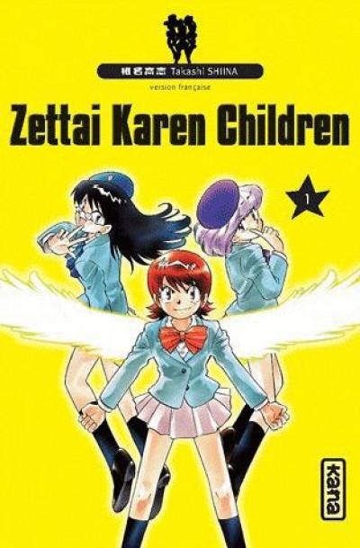 Couverture zettai karen children tome 1