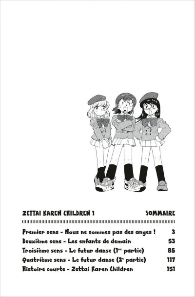 Page 2 zettai karen children tome 1