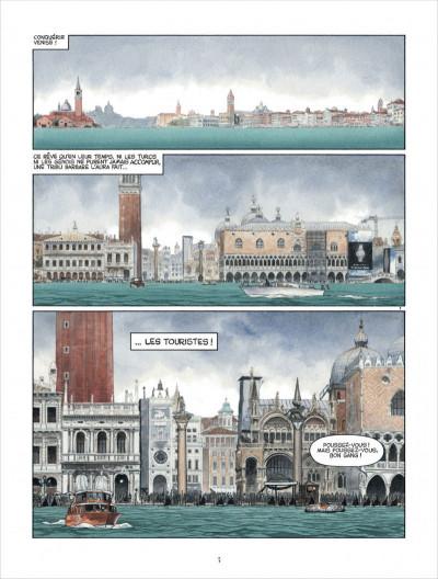 Page 3 Marina tome 1 - les enfants du Doge