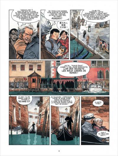 Page 4 Marina tome 1 - les enfants du Doge