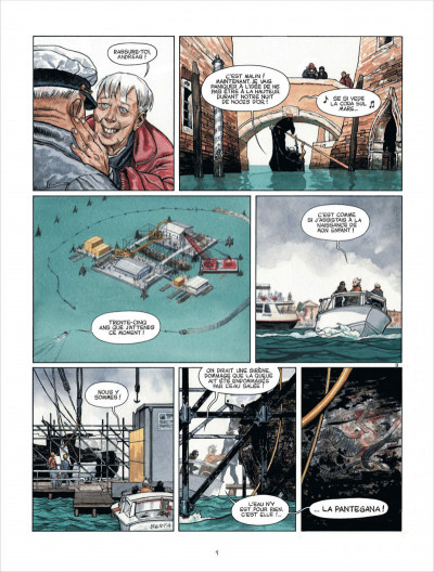 Page 5 Marina tome 1 - les enfants du Doge