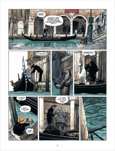 Page 6 Marina tome 1 - les enfants du Doge