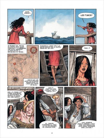 Page 8 Marina tome 1 - les enfants du Doge